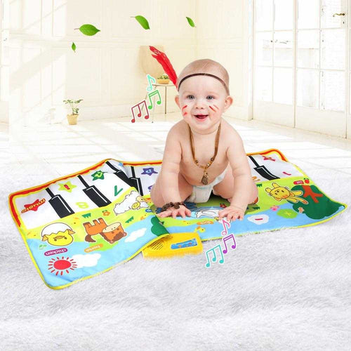 Baby Musical Mat Large Size Animal Theme Educational Learning Toys | broadway rd