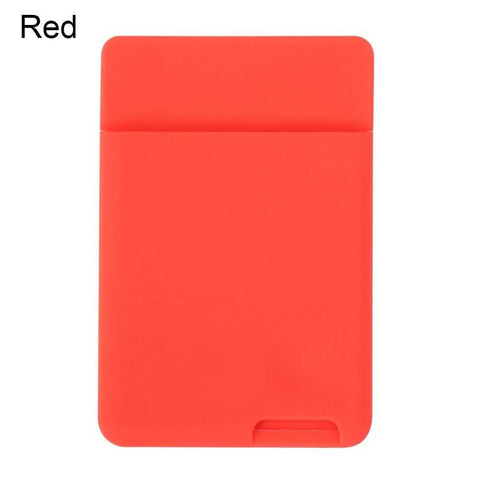 iPhone Wallet Case Stick On ID Credit Card Holder Silicone | broadway rd
