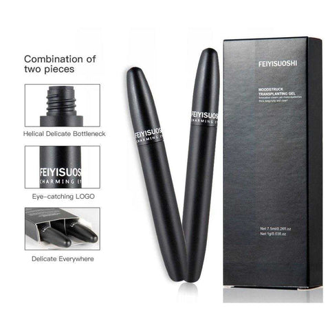 1pc Waterproof 3d Fiber Lashes Eyelashes Mascara Double Effect of Dual-use Maquiagem Makeup Long Curly Eyelashes | broadway rd
