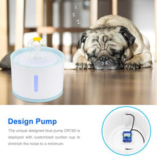 Load image into Gallery viewer, Automatic Pet Cat Water Fountain With LED Electric Mute Water Feeder USB Drinker Bowl Pet Drinking Fountain Dispenser | broadway rd
