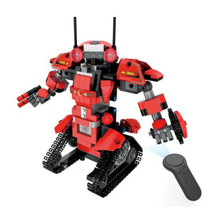 392pcs M1 4CH Remote Control DIY RC Building Blocks Robert Robot Toys Creative Bricks with 360Rotate in Situ for Gift Kids | broadway rd