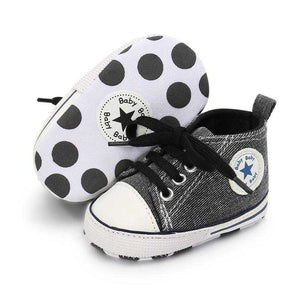 Canvas Baby Sneaker Sport Shoes For Girls Boys Newborn Shoes Baby Walker Infant Toddler Soft Bottom Anti-slip First Walkers | broadway rd