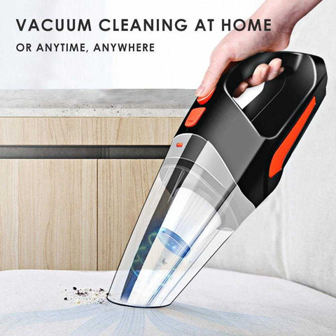 Handheld Car Vacuum Cleaner Cordless Powerful Cyclone Suction Portable Rechargeable Vacuum Cleaner Quick Charge For Car Home | broadway rd