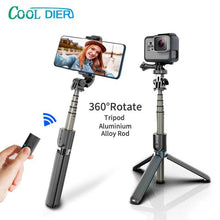 Load image into Gallery viewer, High quality Wireless bluetooth Selfie Stick Tripod With Remote Palo Selfie Extendable Foldable Monopod For Iphone Action Camera