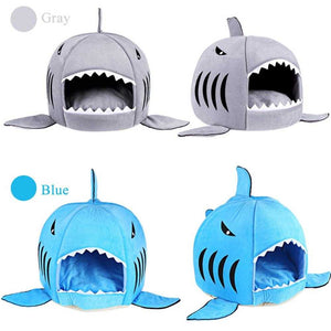 Hot Sell Dog Bed Shark Mouse Shape Washable House Pet Bed Cat House Removable Cushion Pet Bed Shark Dog House For Small Dog | broadway rd