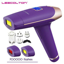 Load image into Gallery viewer, Lescolton 3in1 700000 pulsed IPL Laser Hair Removal Device Permanent Hair Removal IPL laser Epilator Armpit Hair Removal machine | broadway rd