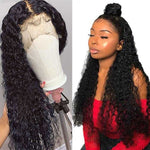 Modern Show Hair 30 inch 4X4 Lace Closure Wig Brazilian 13X6 Lace Front Human Hair Wigs Remy 150% Desnity HD Lace Frontal Wigs | broadway rd