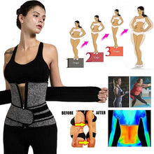 Load image into Gallery viewer, Neoprene Sauna Shaper Waist Trainer