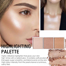 Load image into Gallery viewer, 4 Colors Highlighter Palette Makeup Face Contour Powder Bronzer Make Up Blusher Professional Blush Palette Cosmetics | broadway rd