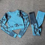 Sport Fitness Seamless Yoga pants Camouflage | broadway rd
