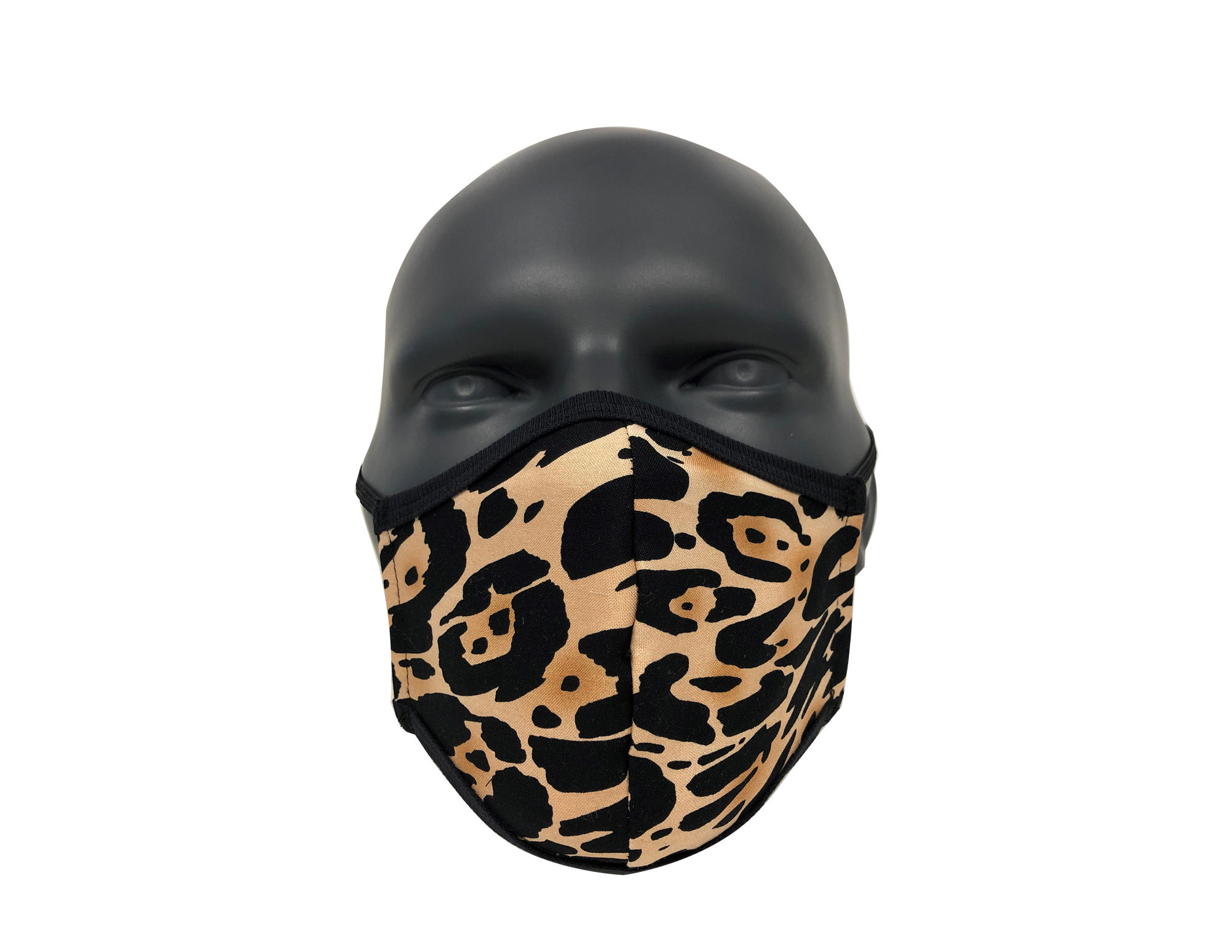 Animal Leopard Brown face mask