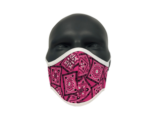 Bandana Pink face mask