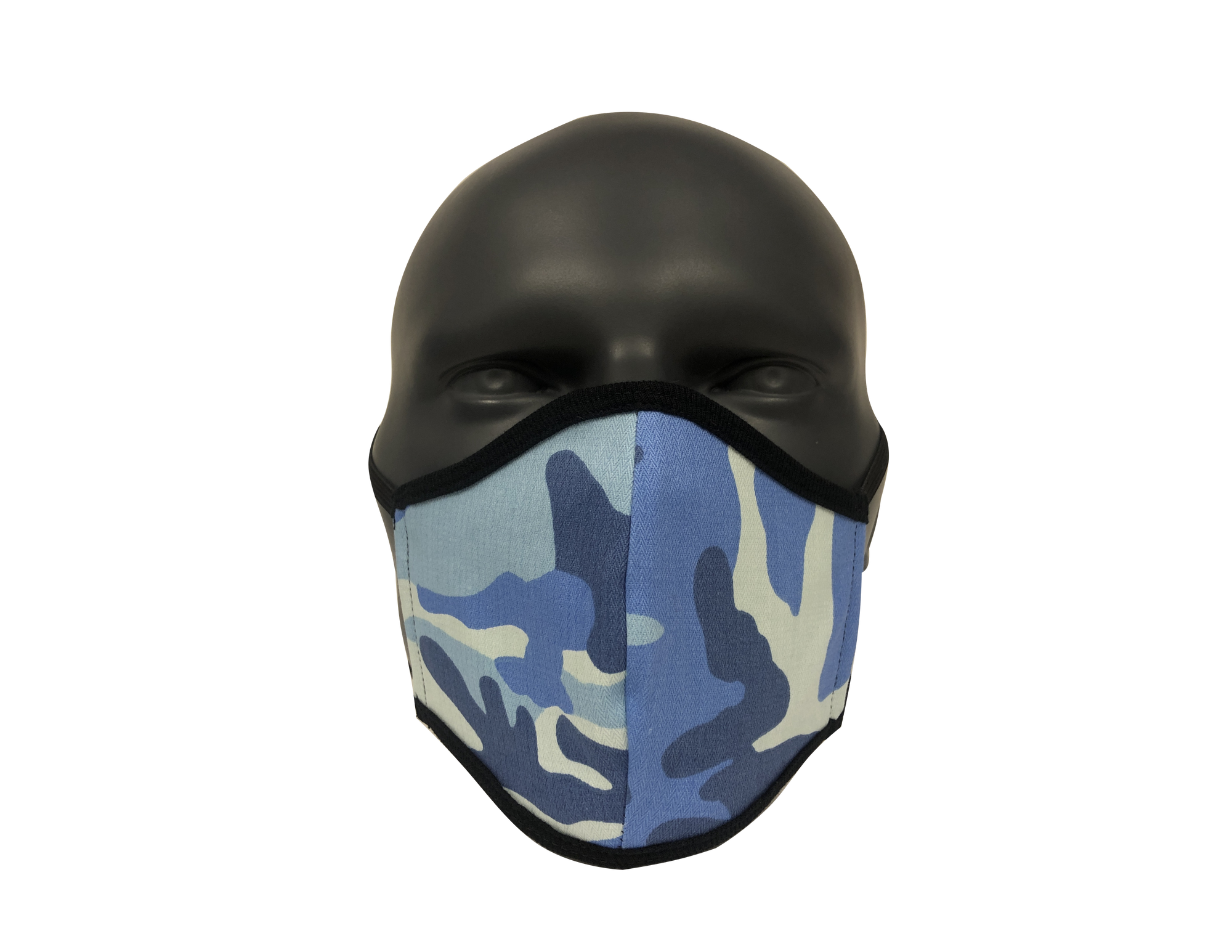 Camo Blue face mask