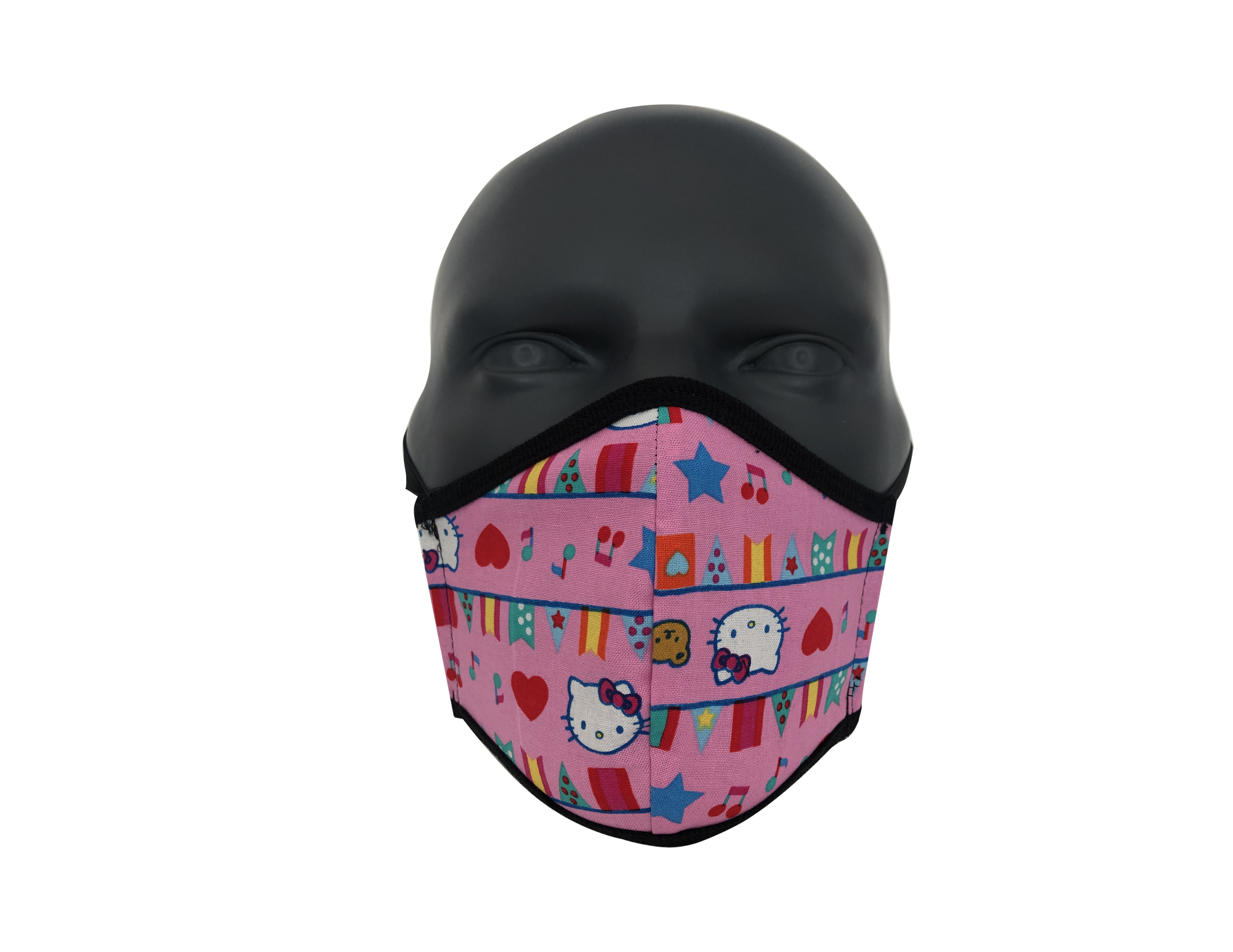 Hello Kitty Flags face mask