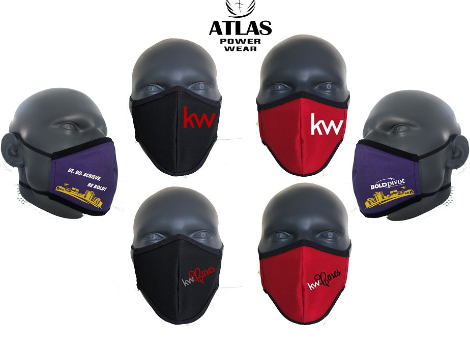 Keller Williams Face Mask *DUAL HEAD BAND ELASTIC