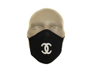 Coco Chanel Inspired face mask