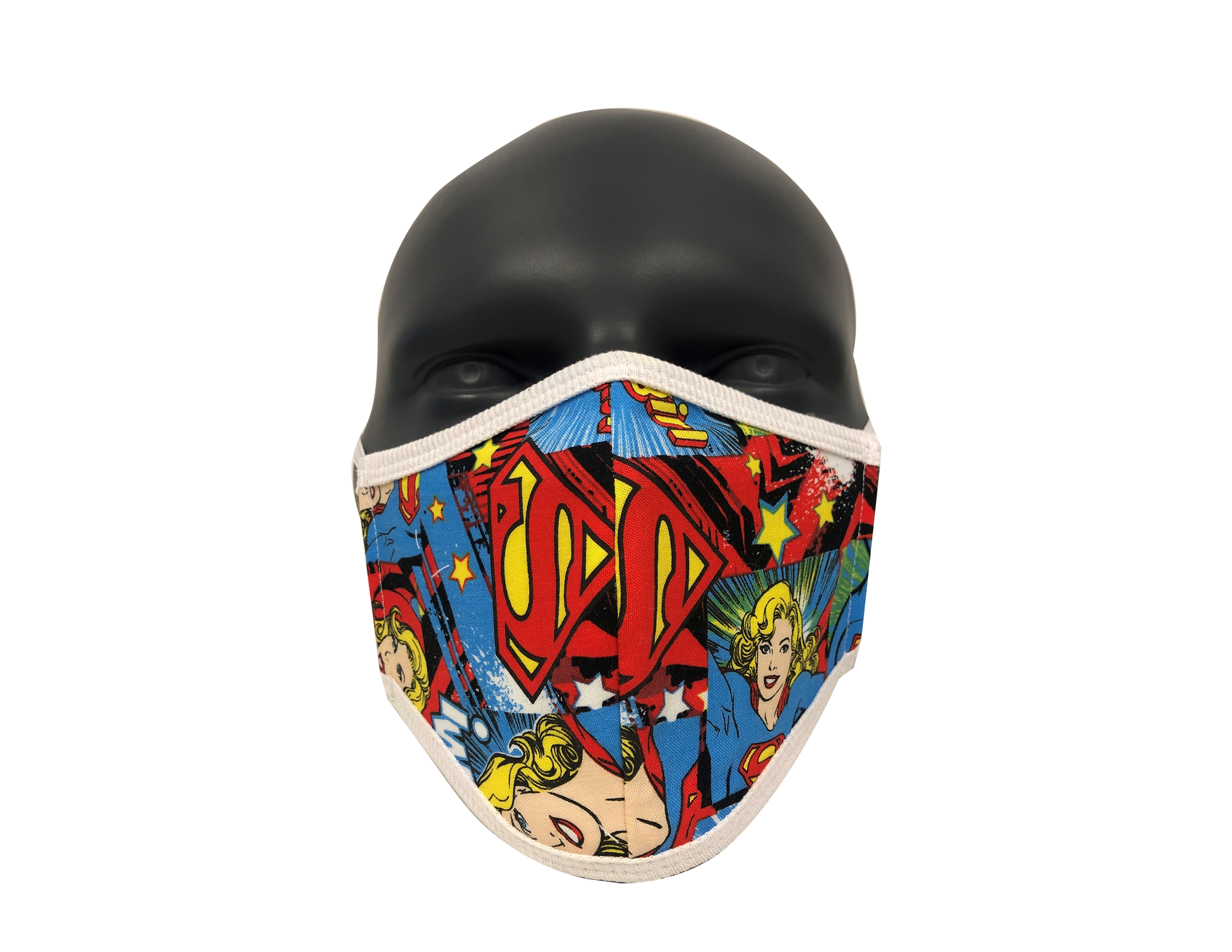 Superhero Woman04 face mask