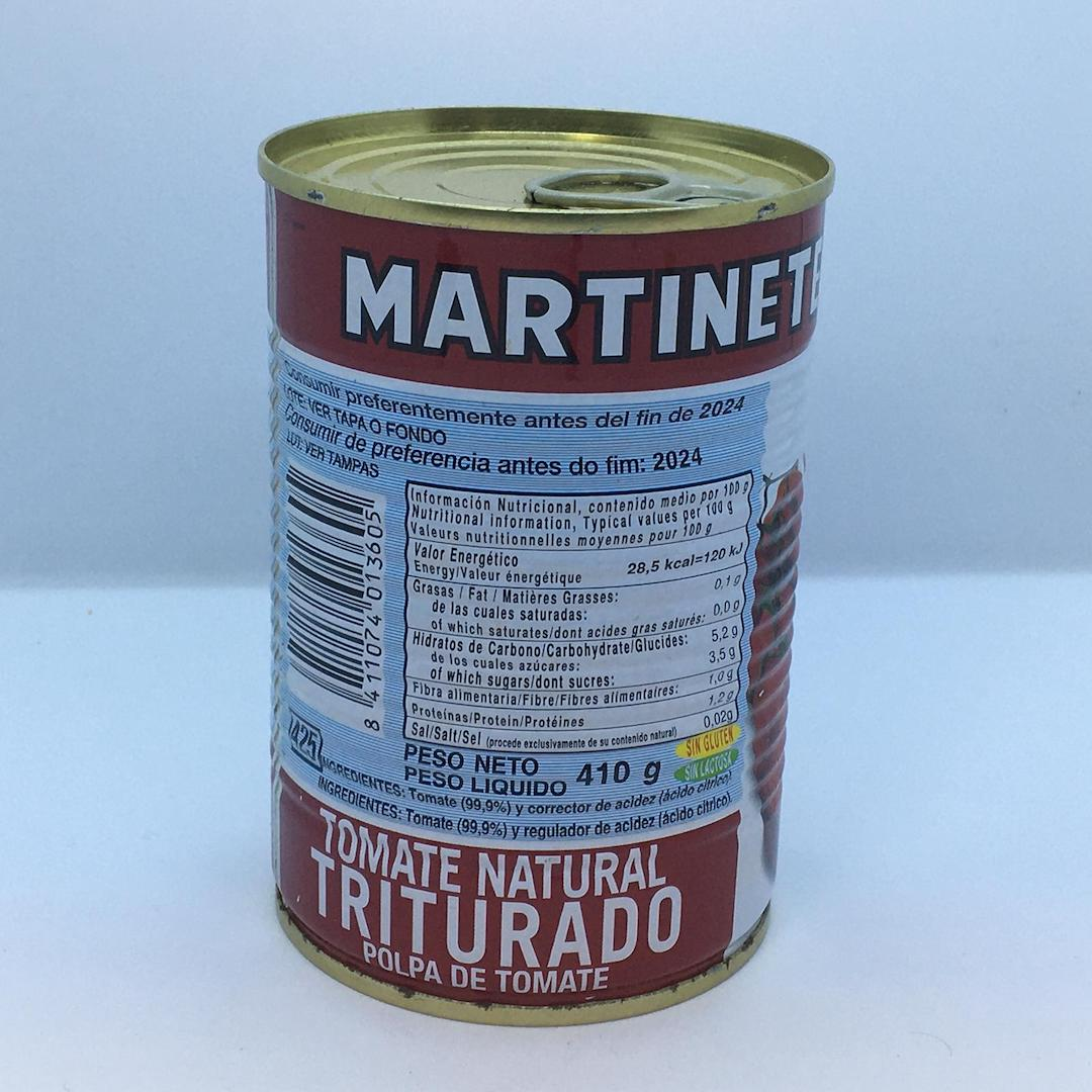 Crushed Tomatoes tinned 400g