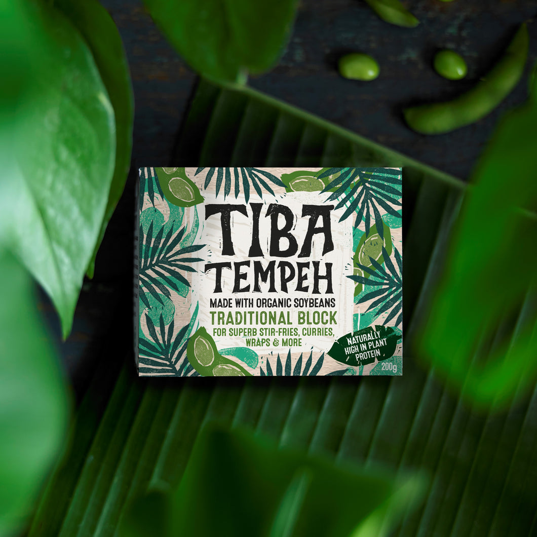 Tiba Tempeh Traditional Block 200g