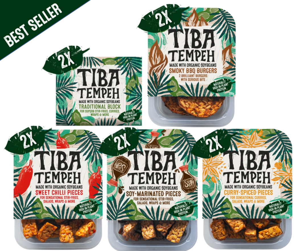 10 x Tiba Tempeh - Super Value Bundle