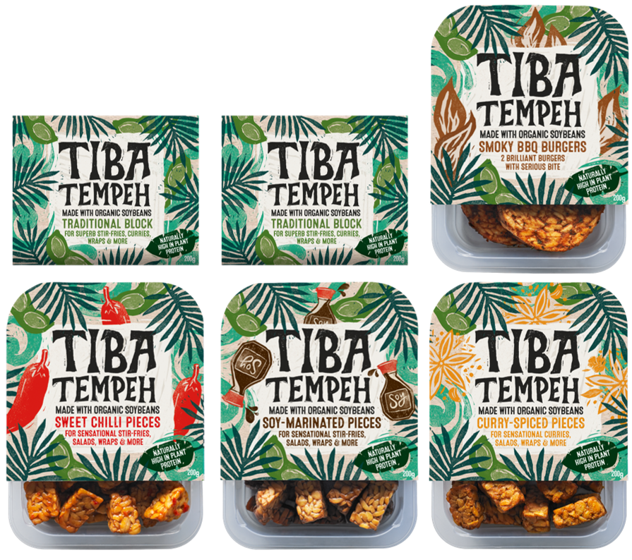 6 x Tiba Tempeh - Full Range Bundle