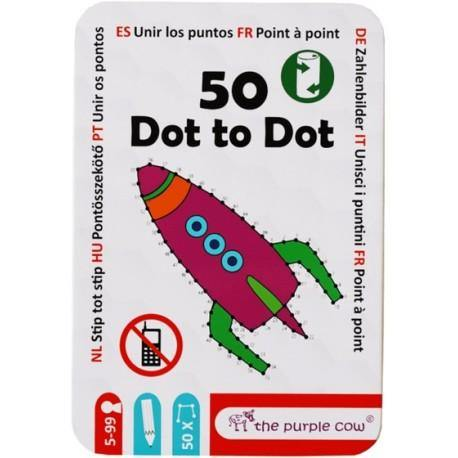 50 Dot to dot - The Purple Cow-the purple cow-1-Játszma.ro - A maradandó élmények boltja
