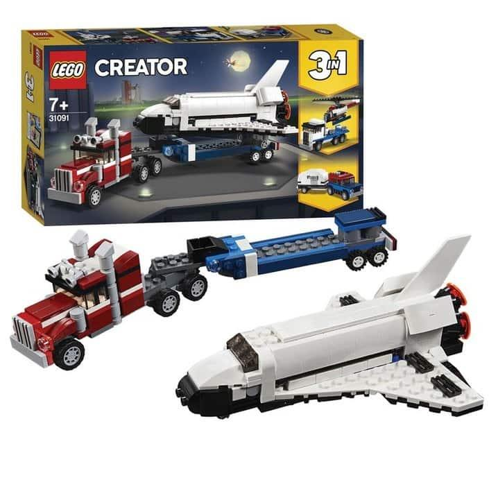 Lego Creator 3 in 1 Space Shuttle Transport 31091