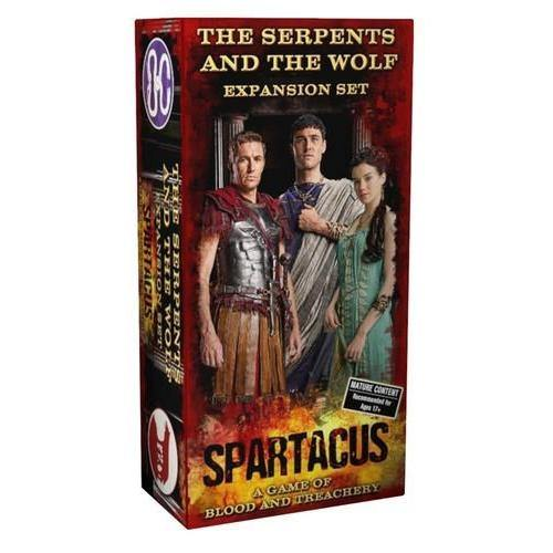 Spartacus - The Serpents and the Wolf-Gale Force Nine-1-Játszma.ro - A maradandó élmények boltja