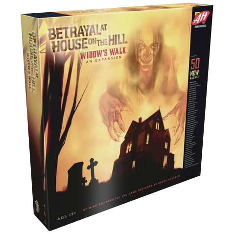 Betrayal at House on the Hill: Widow's Walk-Avalon Hill Games-1-Játszma.ro - A maradandó élmények boltja
