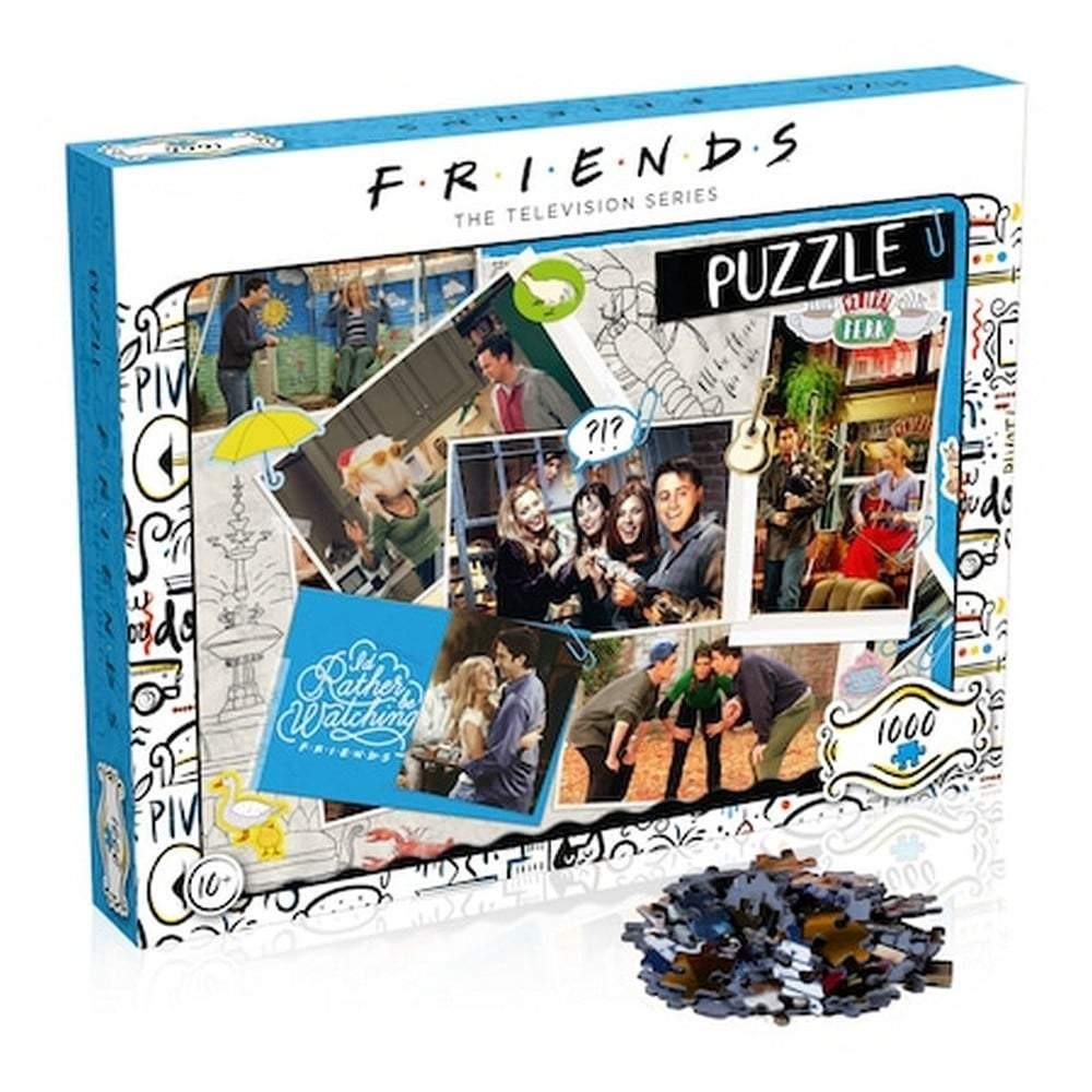 1000 darabos FRIENDS Puzzle - Scrapbook