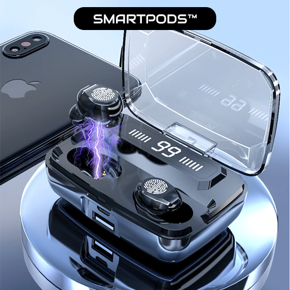 [LAST DAYS 60% OFF] SmartPods™ Wireless Waterproof Touch Control Earbuds