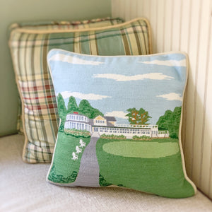 Custom Handmade Needlepoint ACC Pillow by Smathers & Branson