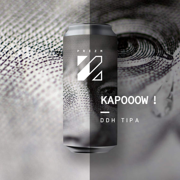 Prizm Brewing - Kapooow ! - DDH TIPA - 44CL CAN - 10°