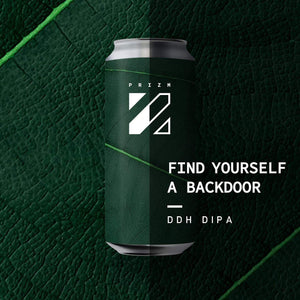Prizm - Find yourself a backdoor - DDH DIPA - 44CL CAN - 8°