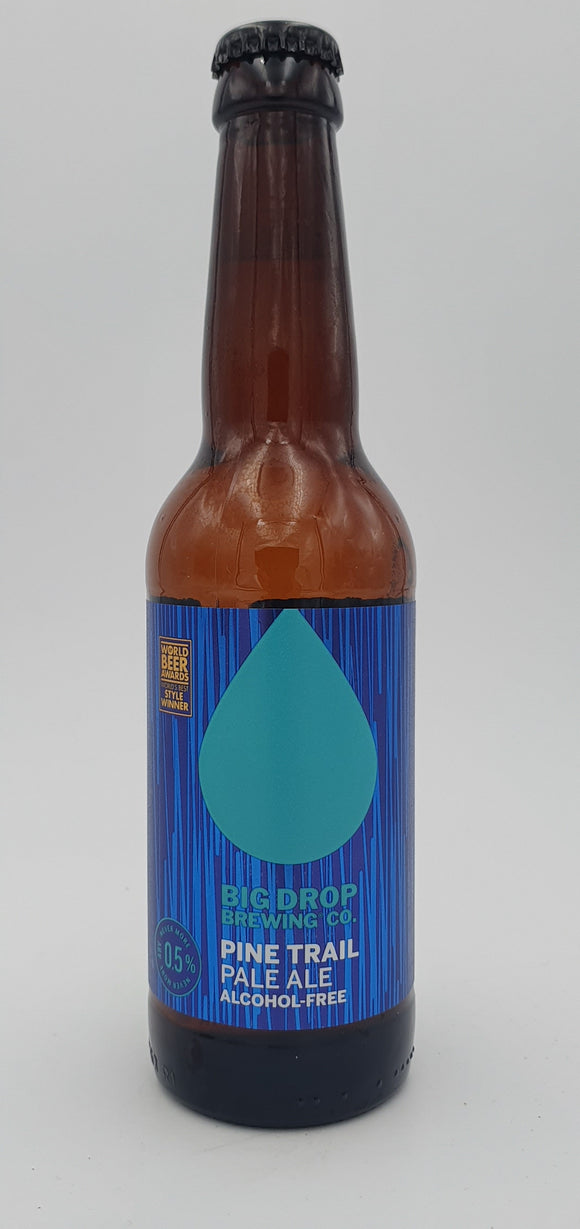 Big drop - Pine trail - pale ale sans alcool - 33cl - 0.5°