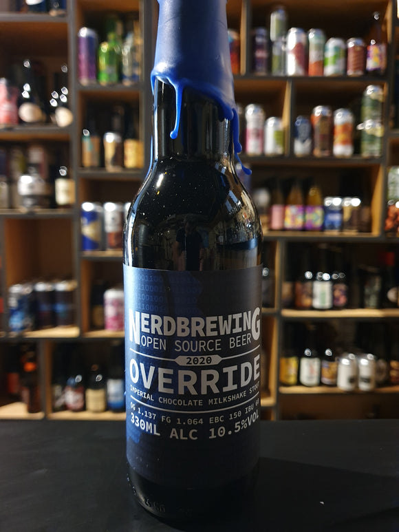 Nerdbrewing - Override 2020 - 33cl - 10.5°
