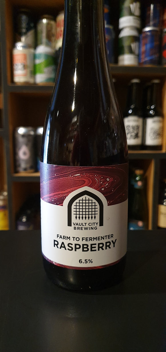 Vault - Farm to fermenter Raspberry - 37.5CL - 6.5°