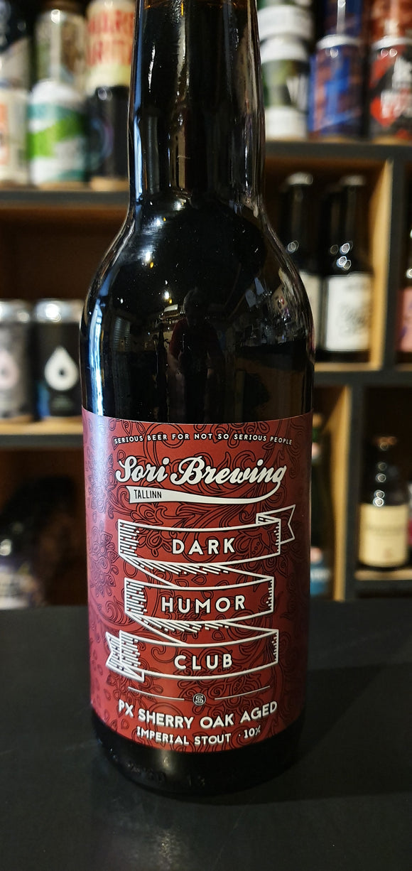 Sori brewing - Dark humor club PX Sheery oak - 33cl - 10°