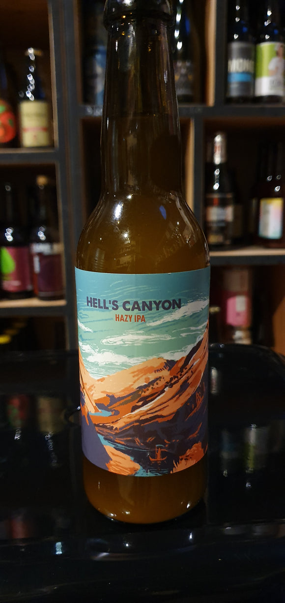 Hoppy Road - Hell's canion - Hazy IPA - 33cl - 6.5°