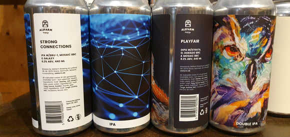 Alefarm - Playfair - DIPA - 44CL - 8.2°