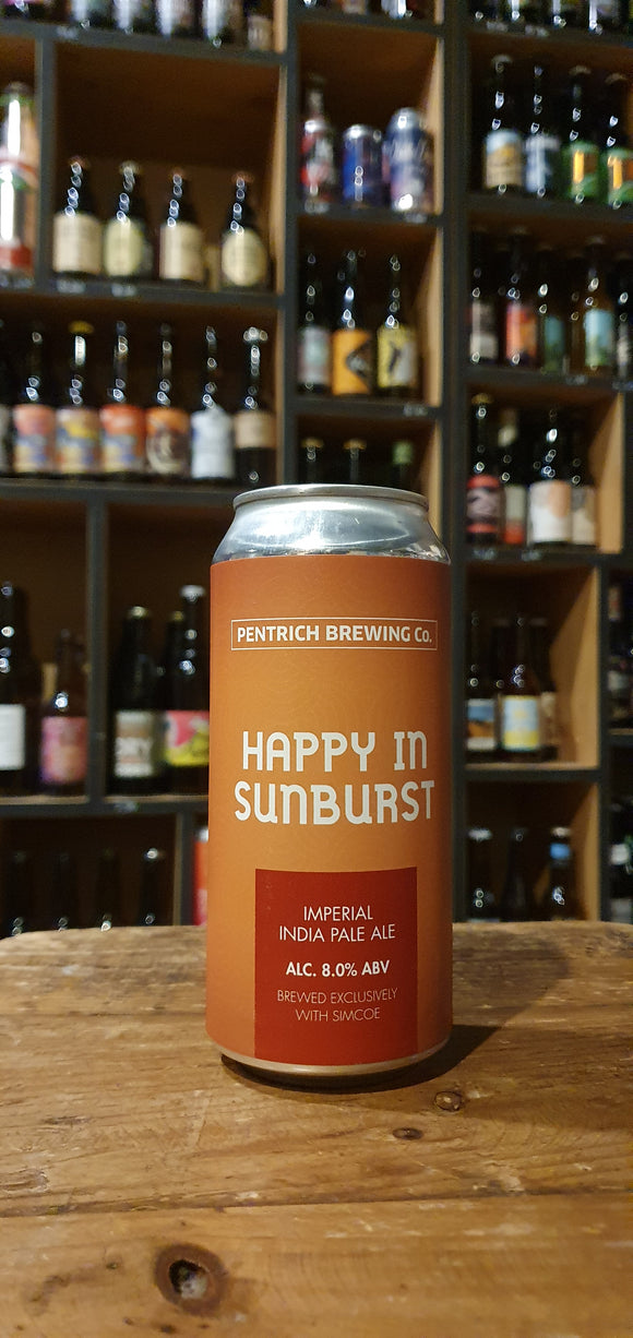 Pentrich - Happy in surbust - DIPA Simcoe - 44cl - 8°