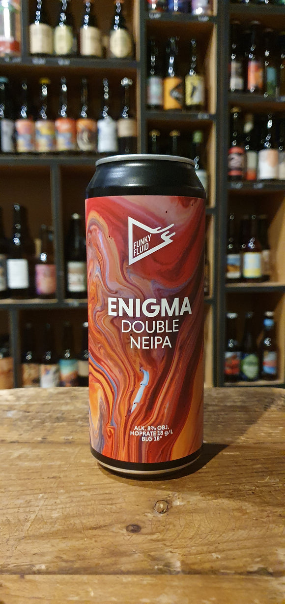 Funky Fluid - Double NEIPA Enigma - 50cl - 8°