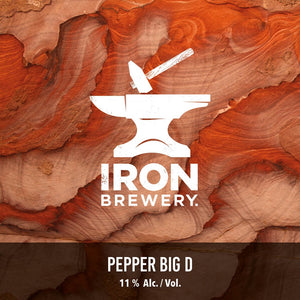 Iron - Big D Poivre - Imperial Stout - 33cl - 11°