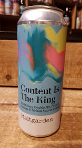 Maltgarden - Content is King - Double IPA - 50cl 7,2°
