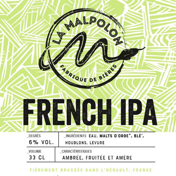 Malpolon - French IPA - 33cl - 6°