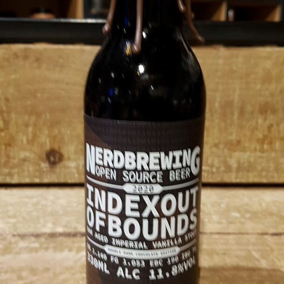 Nerdbrewing - Indexout of Bounds - Stout - 33cl 11,8°