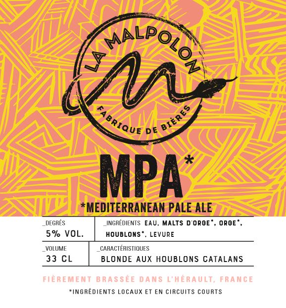 Malpolon - MPA - Pale Ale - 33cl 5°