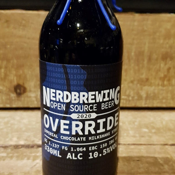 Nerdbrewing - Override - Stout - 33cl 10,5°