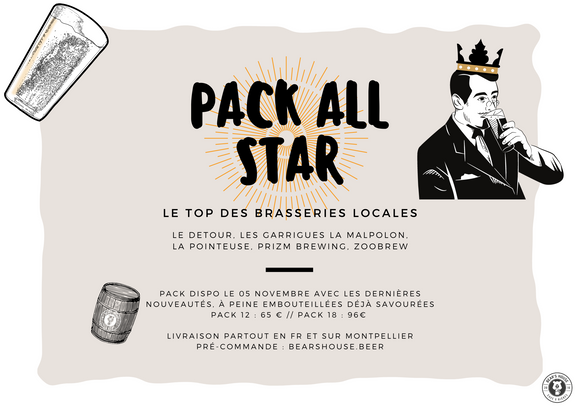 Pack All Star 18
