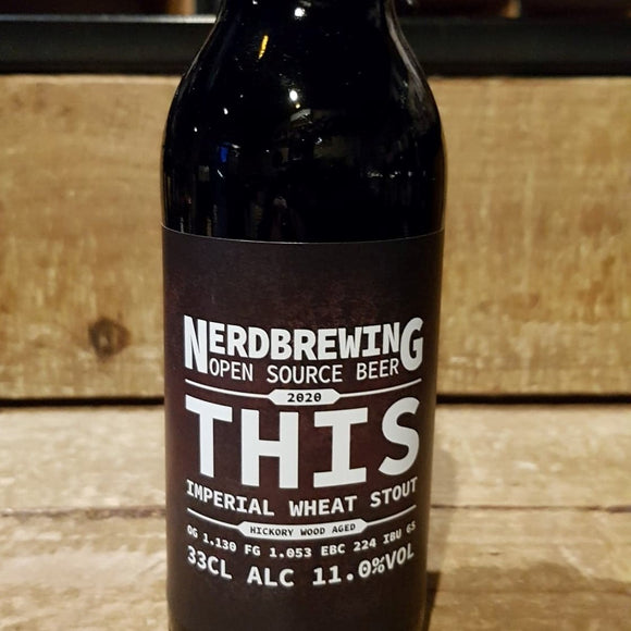 Nerdbrewing - This - Stout - 33cl 11°
